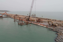 Barge Berth construction