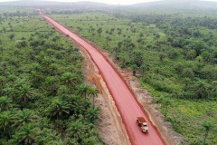 Over 23km of road created