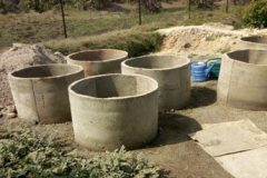 Water storage wells